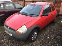 Ford Ka 1.3 ( Style Pack ) 1297cc 2001MY *Spares or repair, MOT Fail*