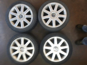 17 inch Volkswagen wheels