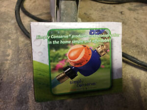 Garden hose timer with brass fittings. Set it and forget it!