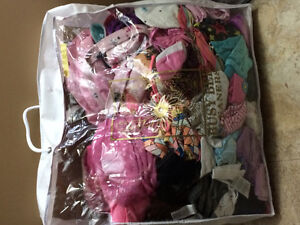 Bag of size 4 girls clothes