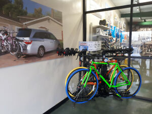 Get $25 off your trailer hitch when you buy a bike rack