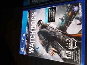 PS4 with Watchdogs **Comes with everything + Original box** Gatineau Ottawa / Gatineau Area image 2