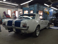 1966 Mustang pro touring fuel injected shelby boss mach 1