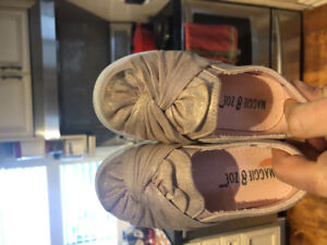 Rose gold shoes size 7