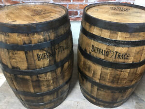 Whiskey and Wine Barrels