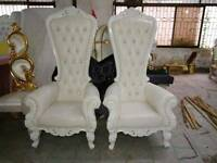 Tablecloth hire,wedding stages,bridal chair,chaircover,