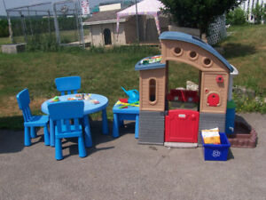 Go Green Playhouse-Eco-Friendly Learning Playhouse and more.....