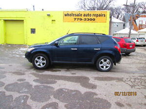 2004 Nissan Murano NEW SAFETY AND WARRANTY SUV, Crossover