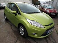 2011 61 Ford Fiesta 1.6TDCi ( 95ps ) Econetic Zetec Diesel 3DR Zero Road Tax