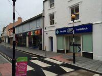 Town centre shop on Holyhead £60 per week