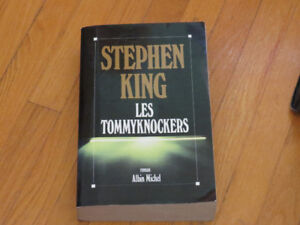 STEPHEN KING**/LES TOMMYKNOCKERS/ littérature