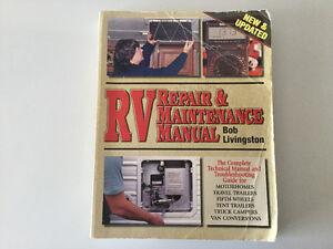 RV Repair Manual Tent Trailer Motorhome 5th wheel Campervan LPG