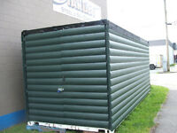 CONTAINERS OR SHEDS OR CABINS