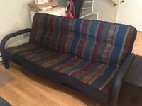 Futon-Must sell quickly-Negotiable