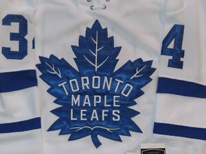 Auston Matthews White Toronto Maple Leafs NHL Jersey Size M/L