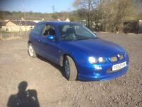 MG/ MGF ZR 1.4 105 3 DOOR - 2002 52-REG - 3 MONTHS MOT