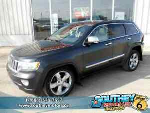 2011 Jeep Grand Cherokee Overland 4x4 - Fully Loaded