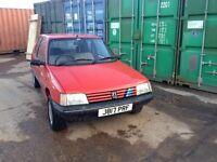 Peugeot 205 1991 automatic