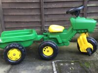 Trike and Trailer £10