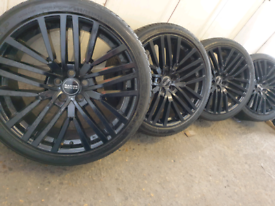 """22"""" Range rover land rover alloy wheels fit bmw x5"""