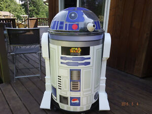 R2-D2 Large Pepsi Cooler Star Wars Episode III Revenge of the Si Campbell River Comox Valley Area image 1