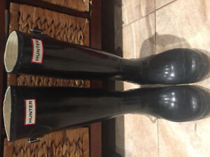 Hunter boots authentic