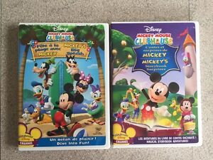 DVDs -Dora, Diego and Mickey Mouse Club House West Island Greater Montréal image 2