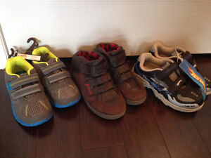 Boys shoes sizes 11, 12 and 13 new and like new Stratford Kitchener Area image 2
