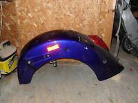 rear fender &tail light from purple vtx 1300
