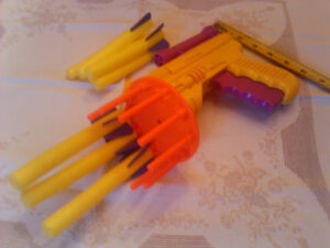 The fastest toy mac6ine 8un in Montreal, by Nerf