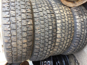 4-P205/70r15 Winter Studded Tires