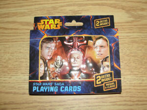 Star Wars collector tin with two decks of cards inside