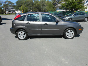 2007 FORD FOCUS 4 DOOR SES HATCHBACK 2 YEAR WARRANTY INCLUDED