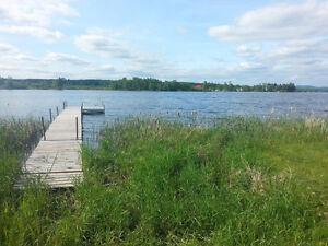 Terrain avec accès au lac Aylmer