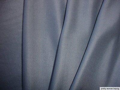1 Lfm seidiger Jersey 3,55€/m² Trikotstoff Micromodal graubraun DE10