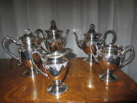 Vintage Silver plate Tea Coffee Service