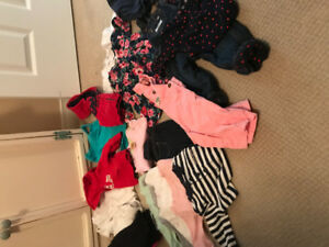 Girls 6 months fall clothing lot