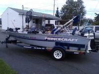 Bateau de pêche Princecraft PRO-SERIE 164