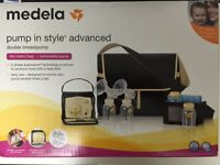 Medea Pump in Style Advance Metro Beg Breastpump + Other items