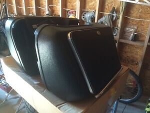 Honda Goldwing Vetter Saddlebags, Luggage and Trunk Set