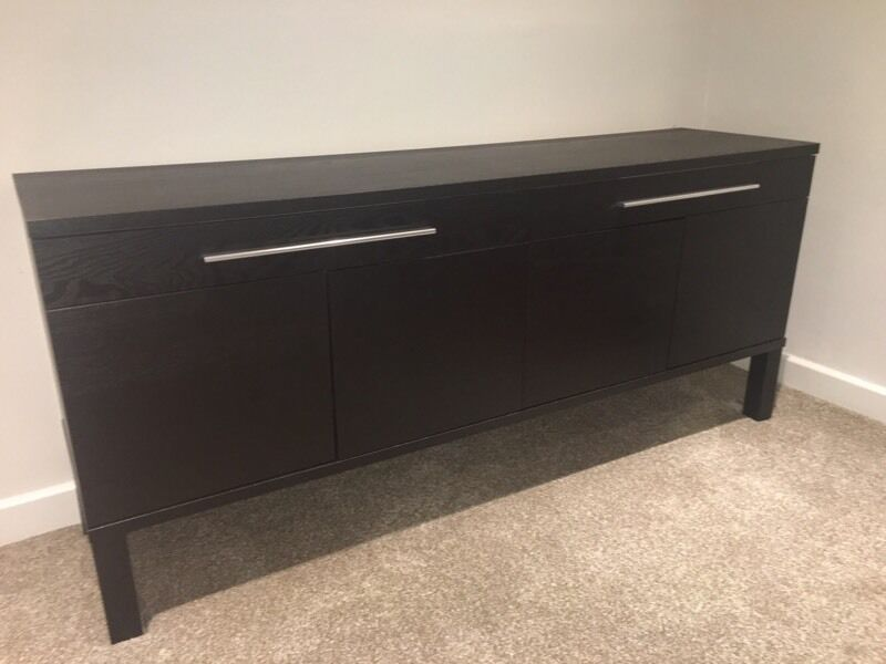 BJURSTA IKEA Black/Brown Sideboard - Need Gone ASAP  in ...