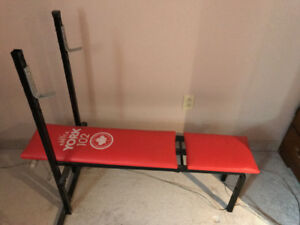 Weight incline Bench / banc de musculation
