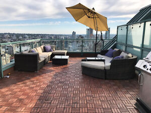 Vancouver Penthouse for rent August 1st..Private rooftop terrace