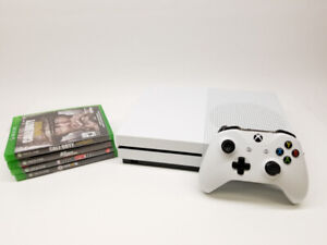 Console Xbox One S 1TB + 2 jeux