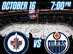 Jets vs Oilers on October 16th - 2 Seats on the Aisle! 04f9457d6