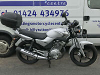 Yamaha YBR125 / Learner Legal 125 Commuter / Large Top Box / Nationwide Delivery