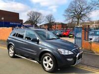 2009 Ssangyong Kyron 2.0TD AUTOMATIC! 4X4! TOP SPEC EX MODEL!