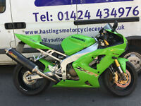 Kawasaki ZX6R Ninja / ZX-6R Super Sports Bike / Nationwide Delivery / Finance