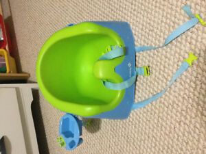 Safety first bumbo chair
