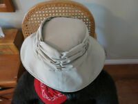 Tilley Ruched Hat Womans Size M Almost New - GREAT PRICE!!